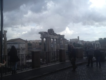 These photos were taken on our first day in Rome. We'd wandered around the city just to see what we could see.