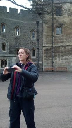 Mom at Windsor Castle (11:10:2014)