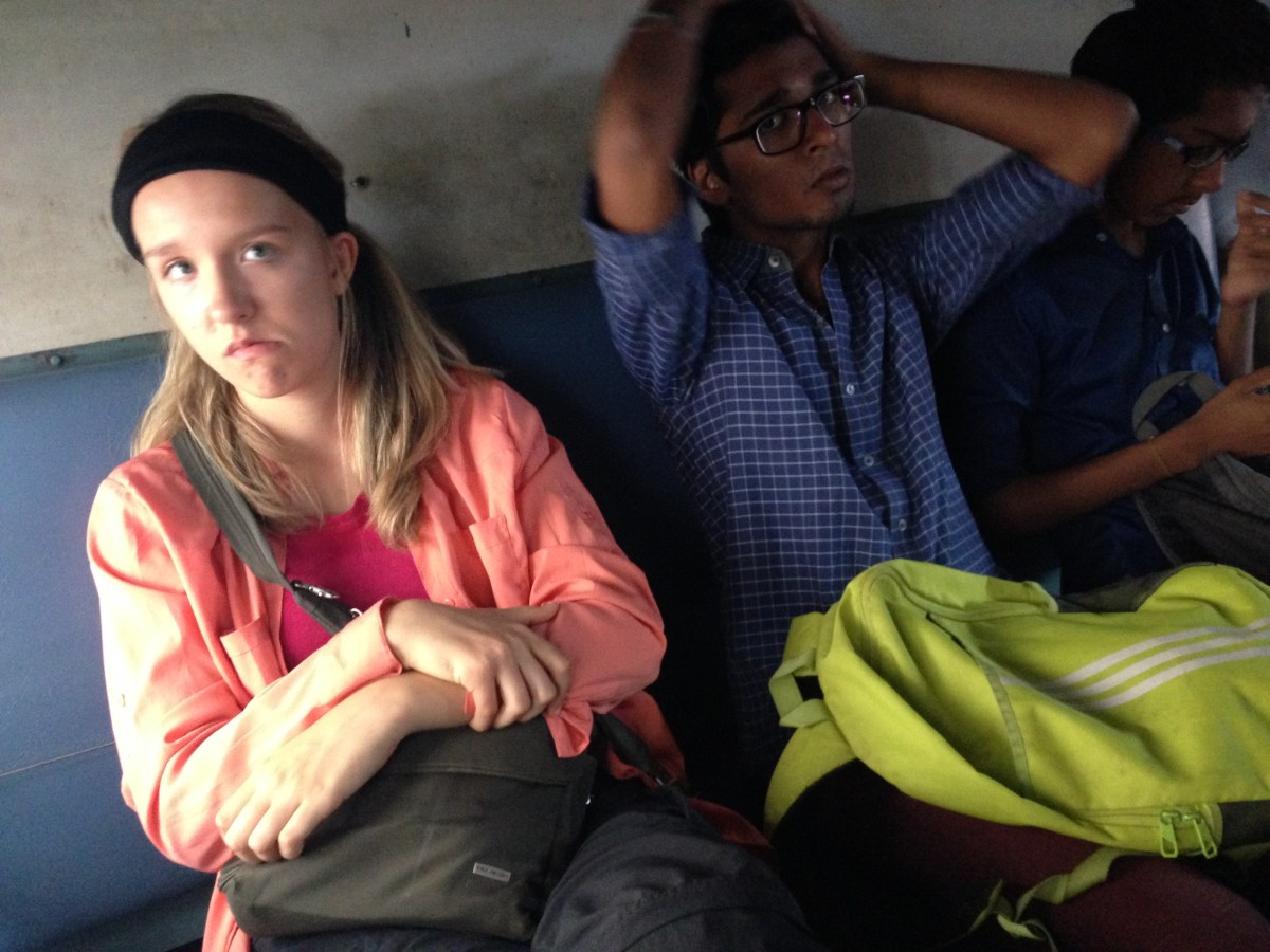 Chennai, India to Puducherry by Train and Puducherry to Auroville by Taxi — By Jennifer Shipp