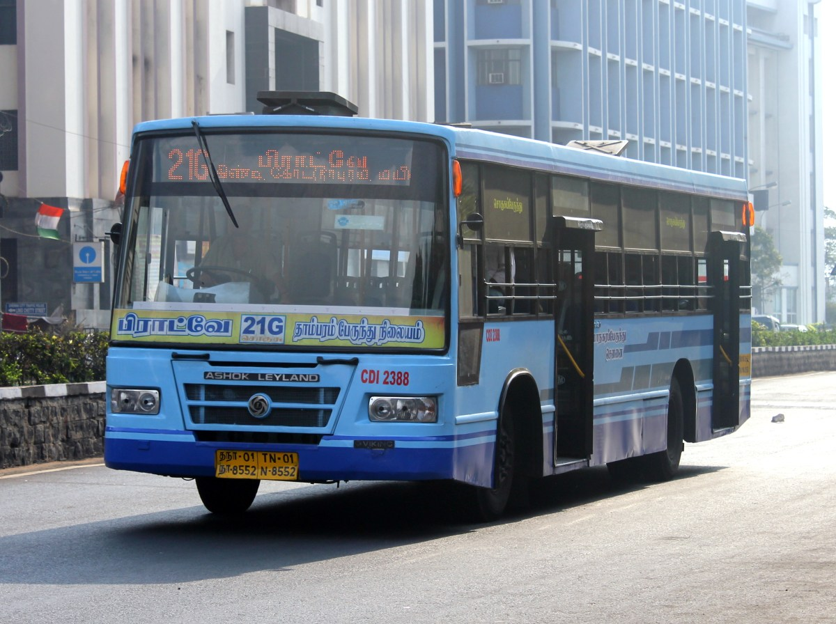 Buses in Chennai, India