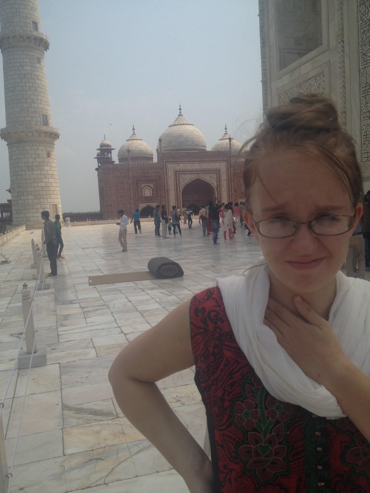 An Agra, India Adventure at the Taj Mahal — By Jennifer Shipp