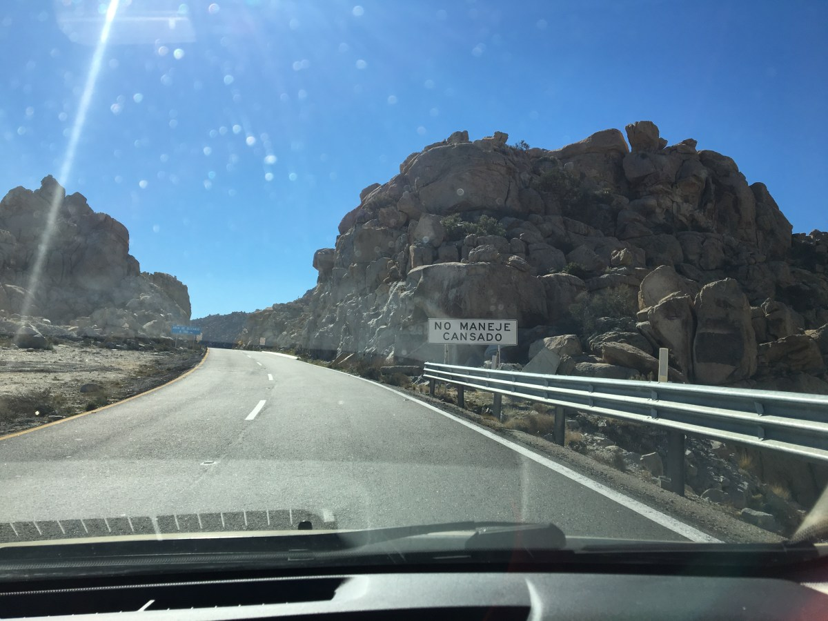 Driving in Mexico: Monterrey to Nuevo Laredo II