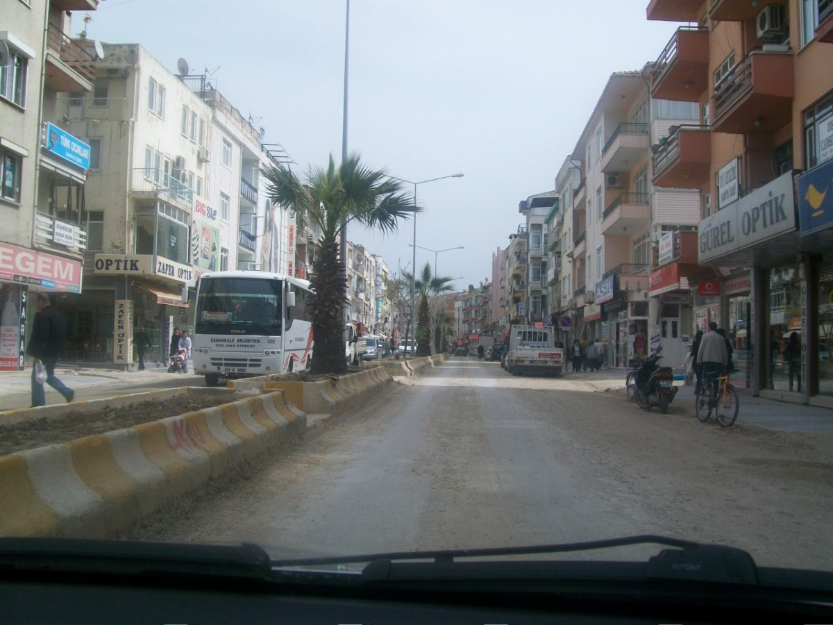 Driving in Turkey: Denizli Area