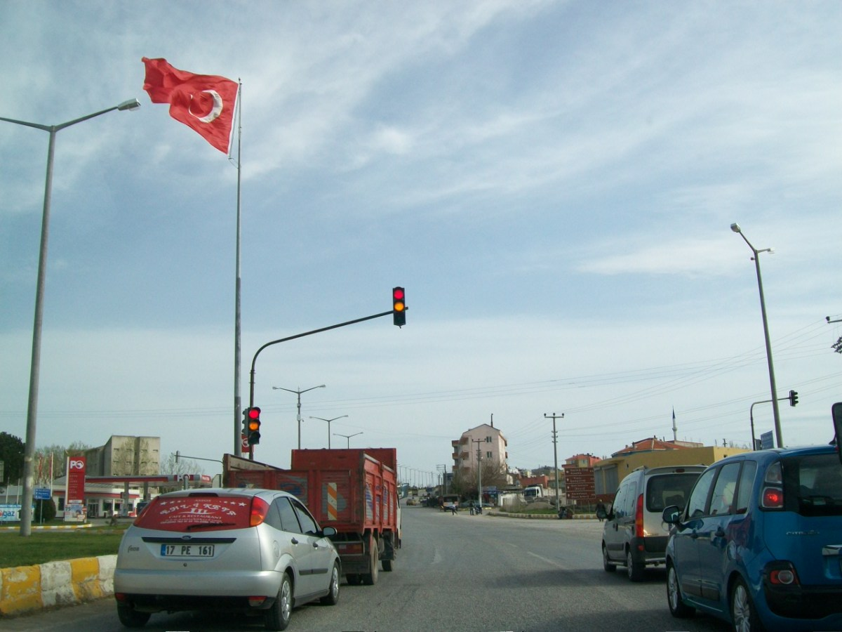 Driving in Turkey: Between Denizli and Konya