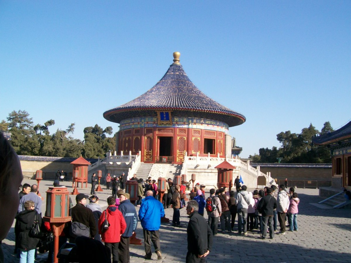 Things to Do in Beijing: Sport Calligraphy at the Temple of Heaven in Beijing (Tiantan)
