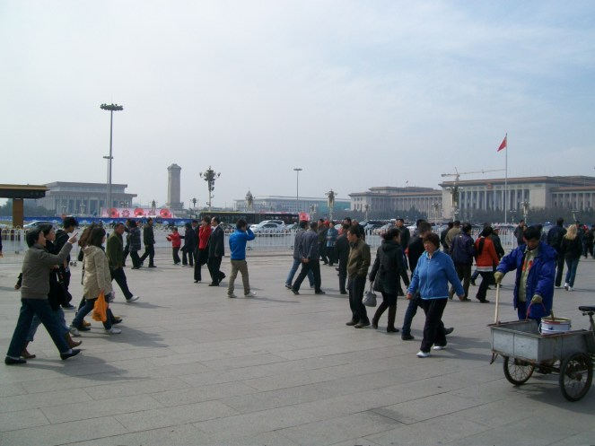 Tiananmen Square, Beijing, China.