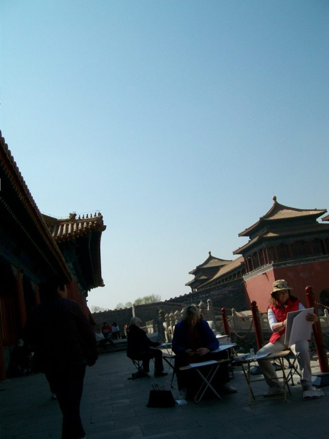 Things to Do in Beijing: People-Watching Outside the Forbidden City