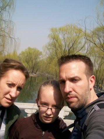 Selfie Beijing China Yuan Ming Yuan