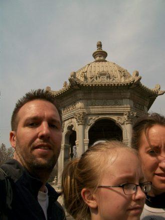 Selfie Yuan Ming Yuan Beijing China