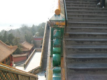 There are always plenty of stairs at Beijing tourist attractions. The Summer Palace is no exception.