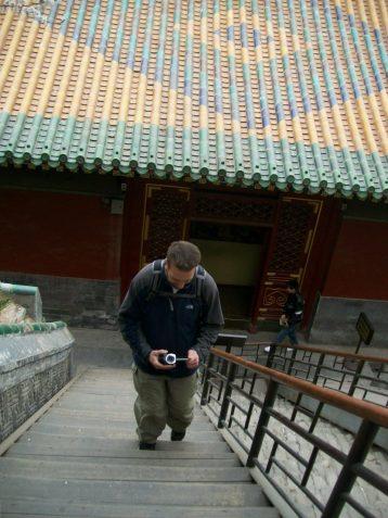 Steep Stairs in Beijing
