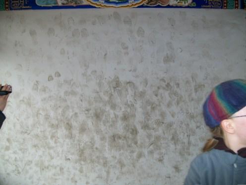 Footprints at Beihai