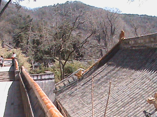 Places to Visit in Beijing: Tanzhe Temple View of the Countryside