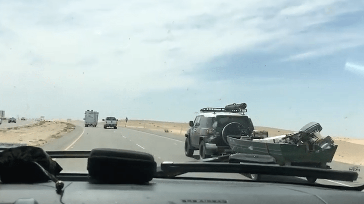 Driving to Mexico: The FJ Cruiser That Didn't Wave