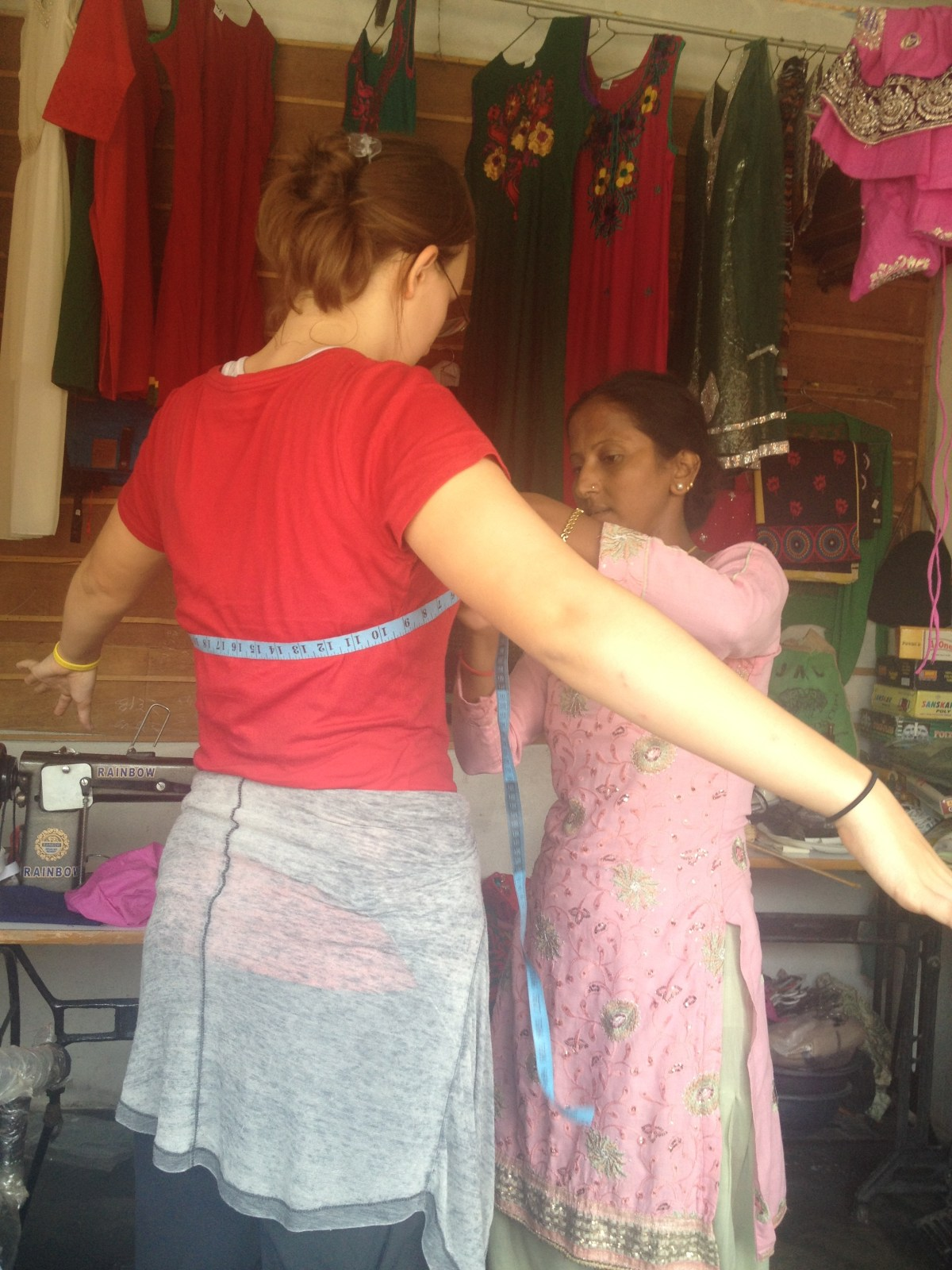 Chitwan National Park: Lydi Gets Custom-Made Nepali Clothes