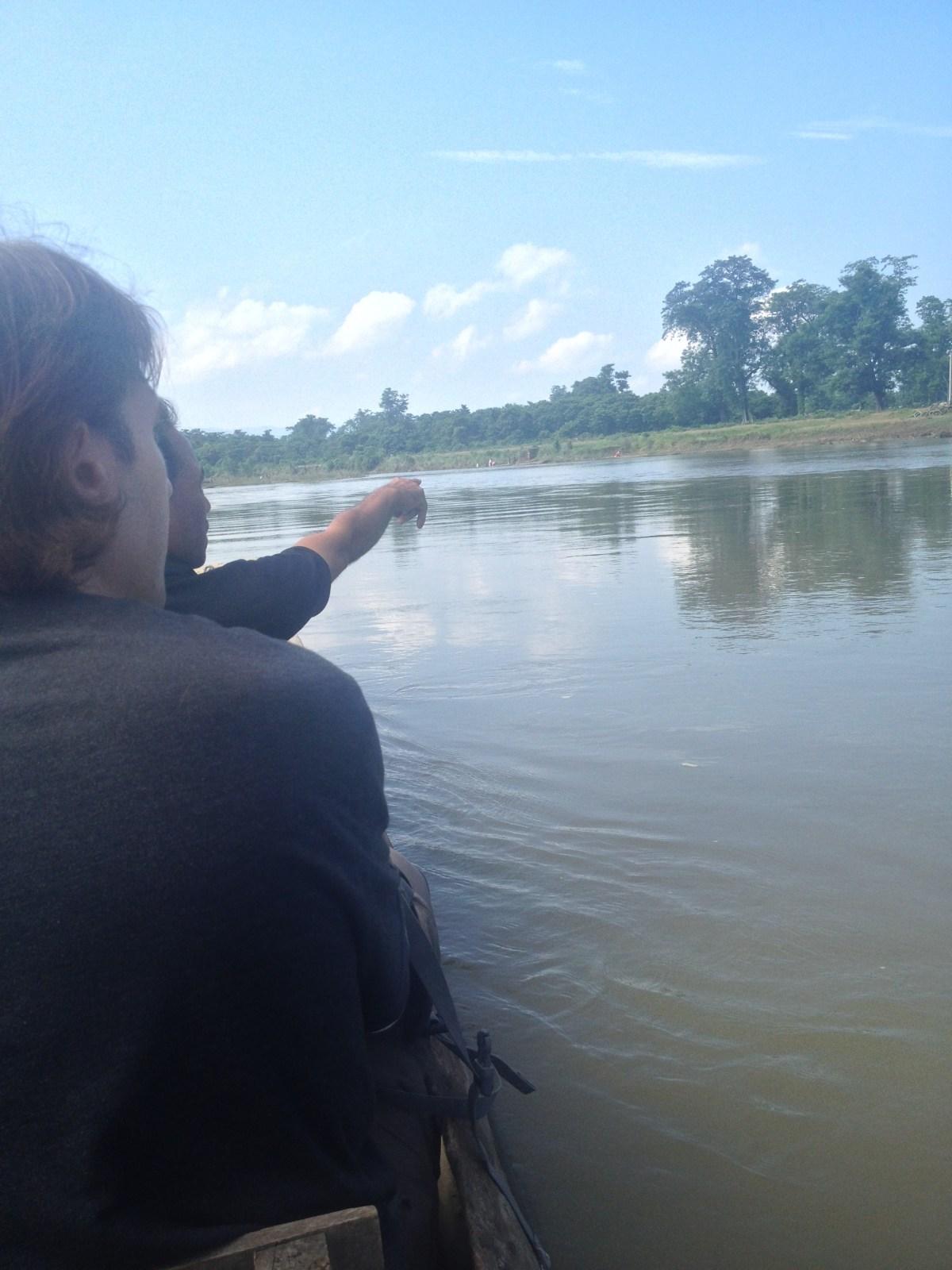 Chitwan National Park: Dug-Out Canoe Ride Part II