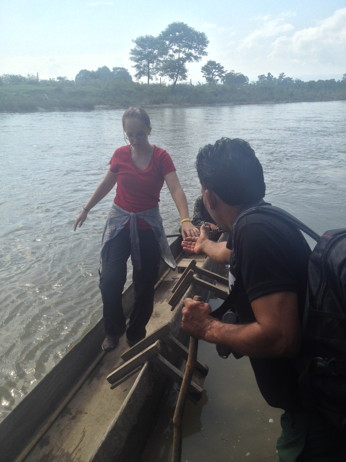 Chitwan National Park: Dug-Out Canoe Through the Jungle