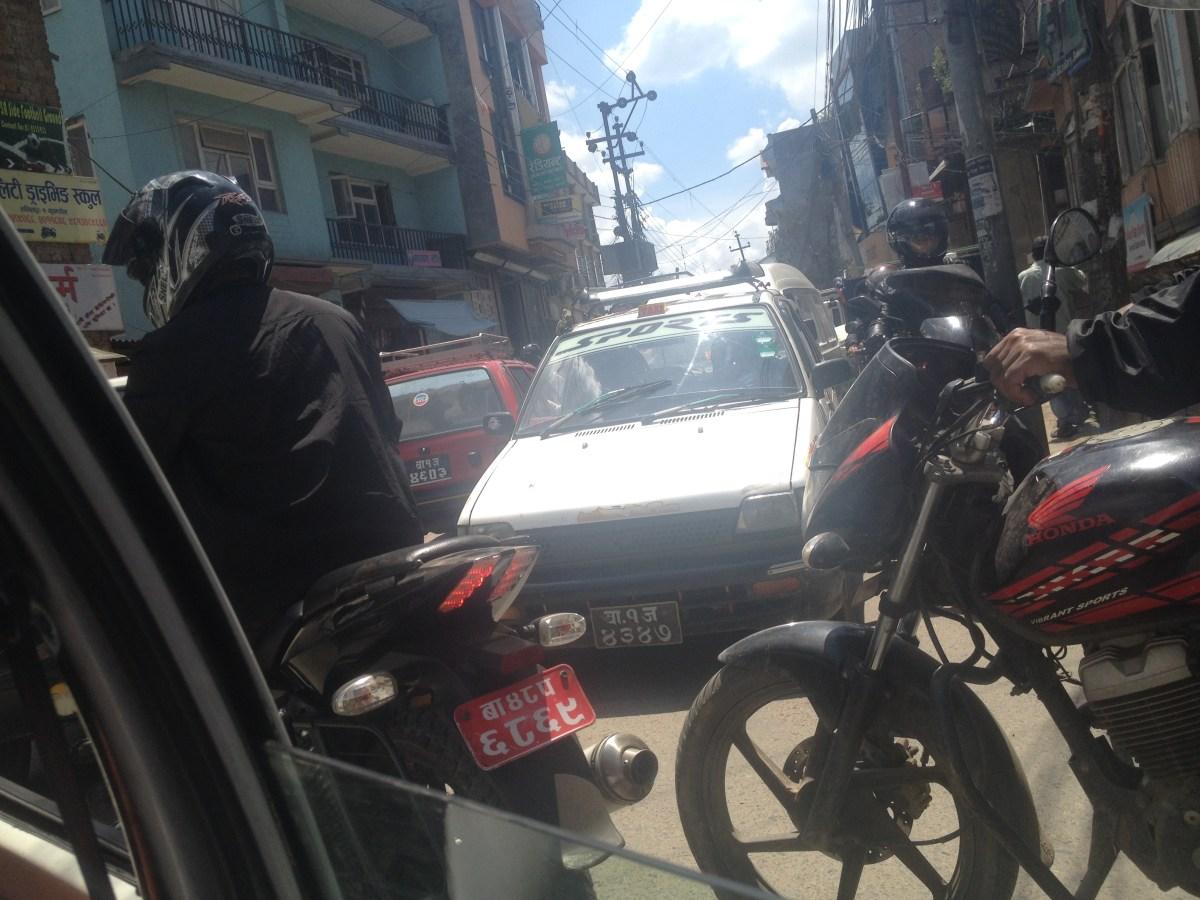Nepal Travel: Finding a Kathmandu Taxi