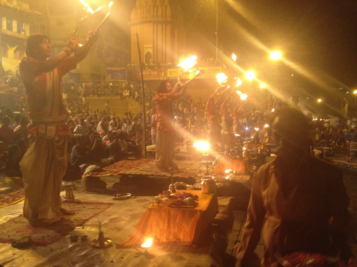Varanasi Tourism: Hindu Fire Ritual Part III
