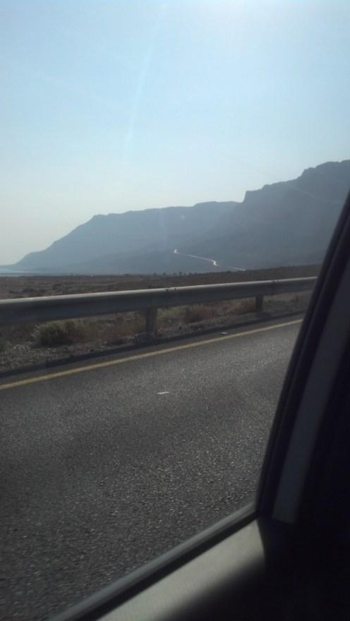 The area around the Dead Sea was uniquely pretty.
