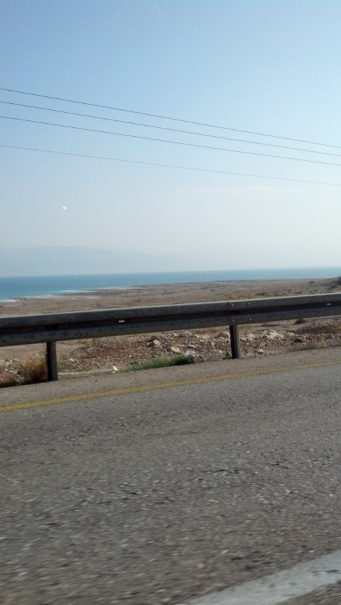The Dead Sea in Israel.