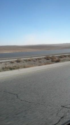 Driving in Jordan.