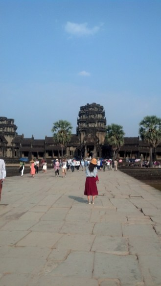 Angkor Wat is on every traveler's list of must-see places.