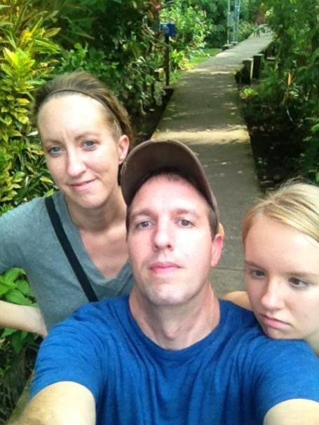 A selfie in Tortuguero (the obligatory selfie...)