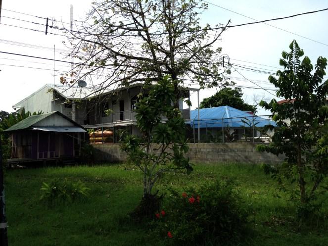 Houses in Tortuguero.