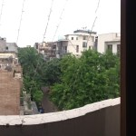 View from the Delhi Apartment