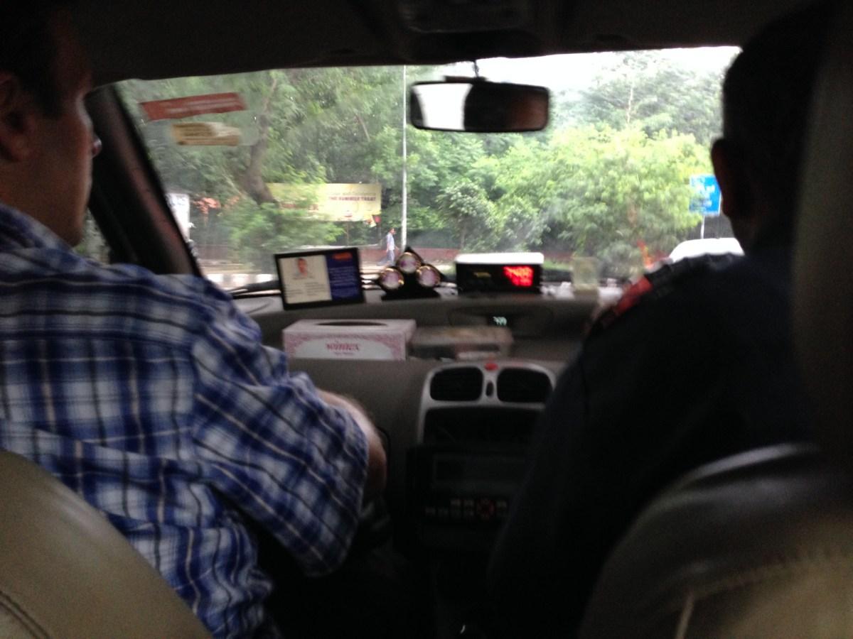 Delhi: Taxi Ride Through Monsoon Rains