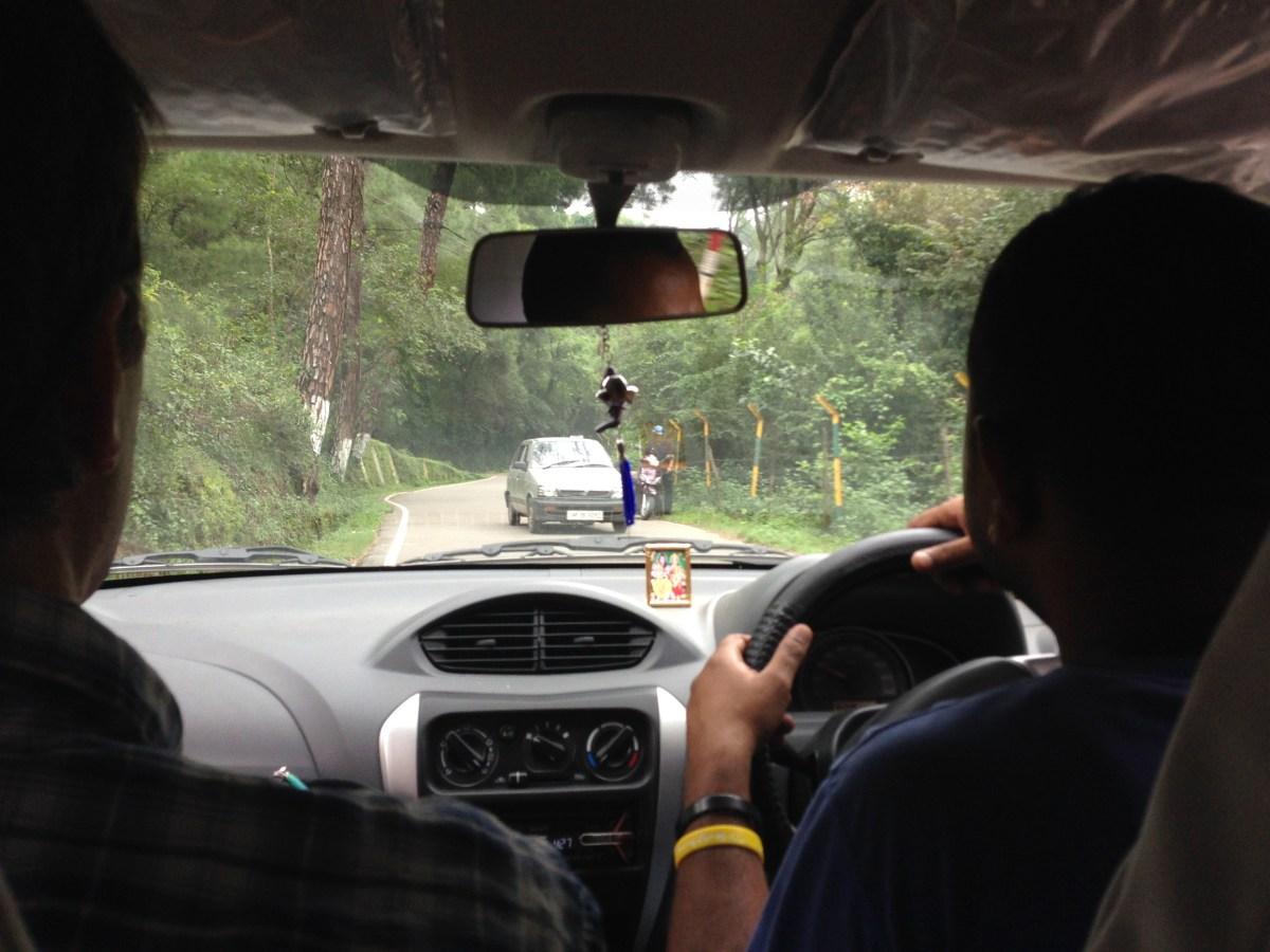 Car – Tuk Tuk Accident Due to Landslide Near Mcleodganj