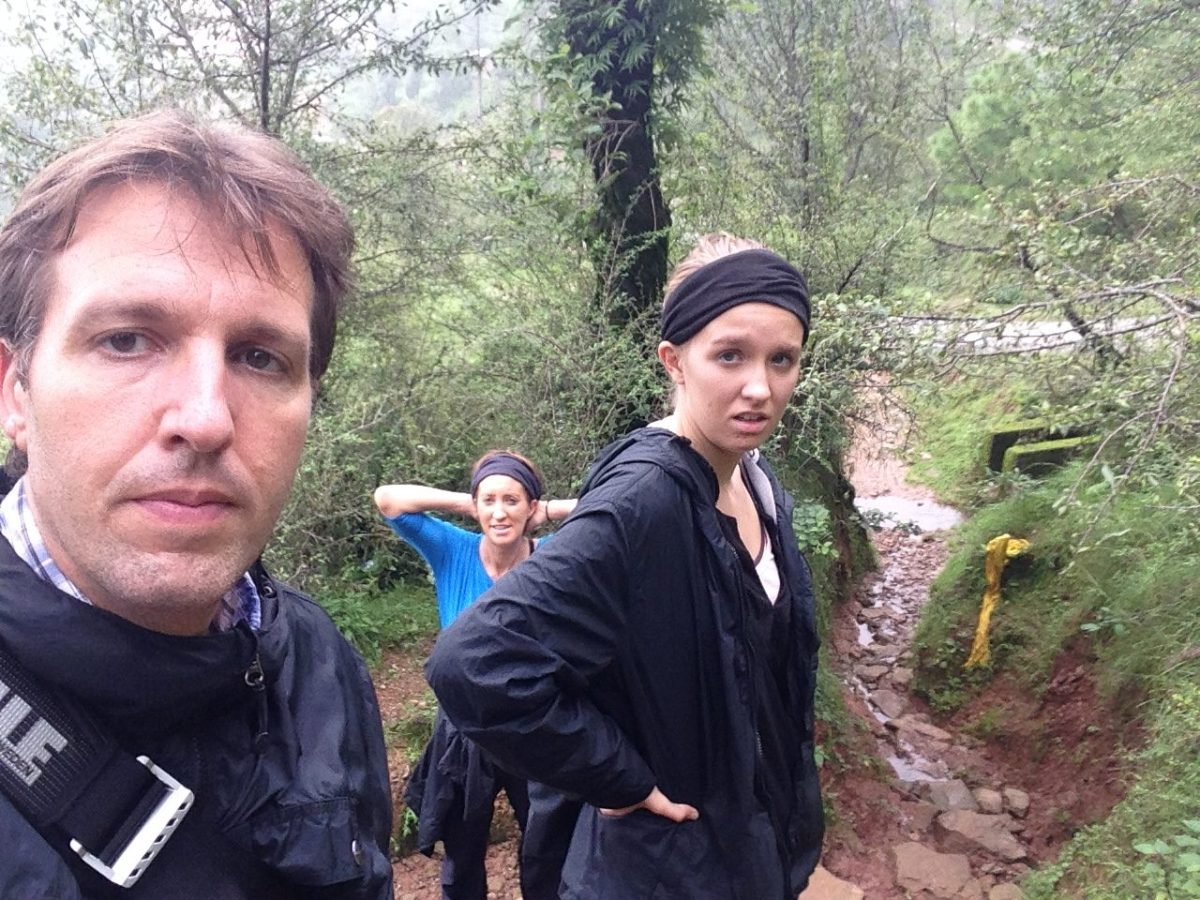 Treacherous Hike Near Naddi Village