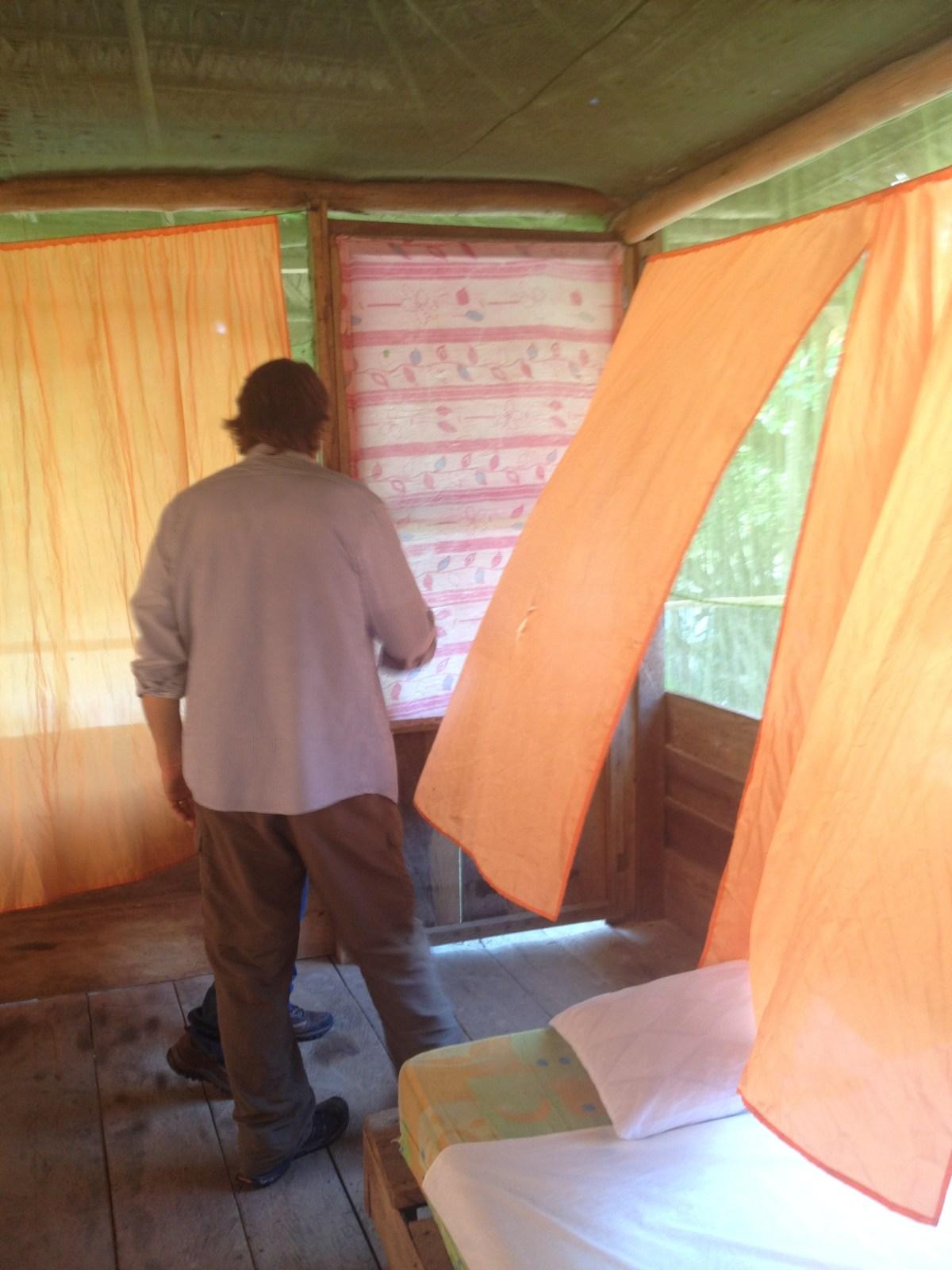 Amazon River Lodge Near Iquitos, Peru: Maniti Camp Expeditions