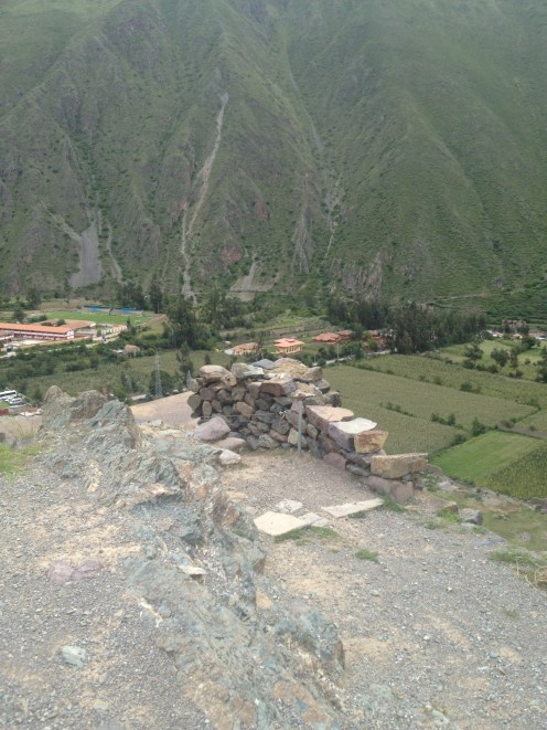 Ollantaytambo Peru Selfie