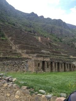 The Ollantaytambo ruins are spectacular.