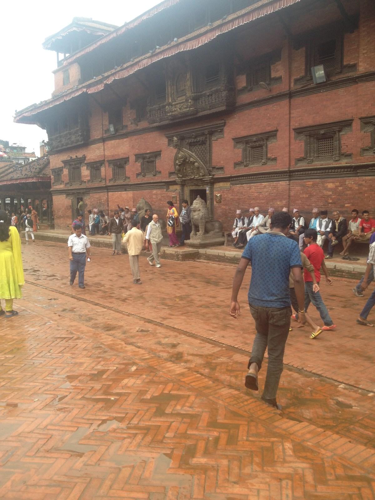 Kathmandu Durbar Square: Fake Sadhus in Durbar Square