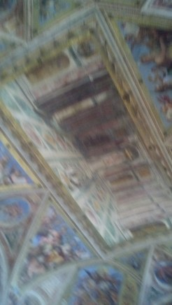 Painting on the Ceiling (11:19:2014)