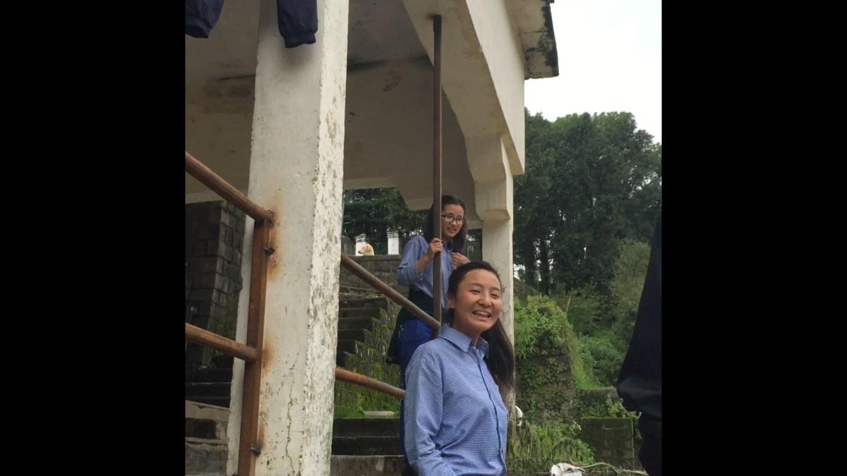 Teenage Girls Leads Us Through the Tibetan Children's Village