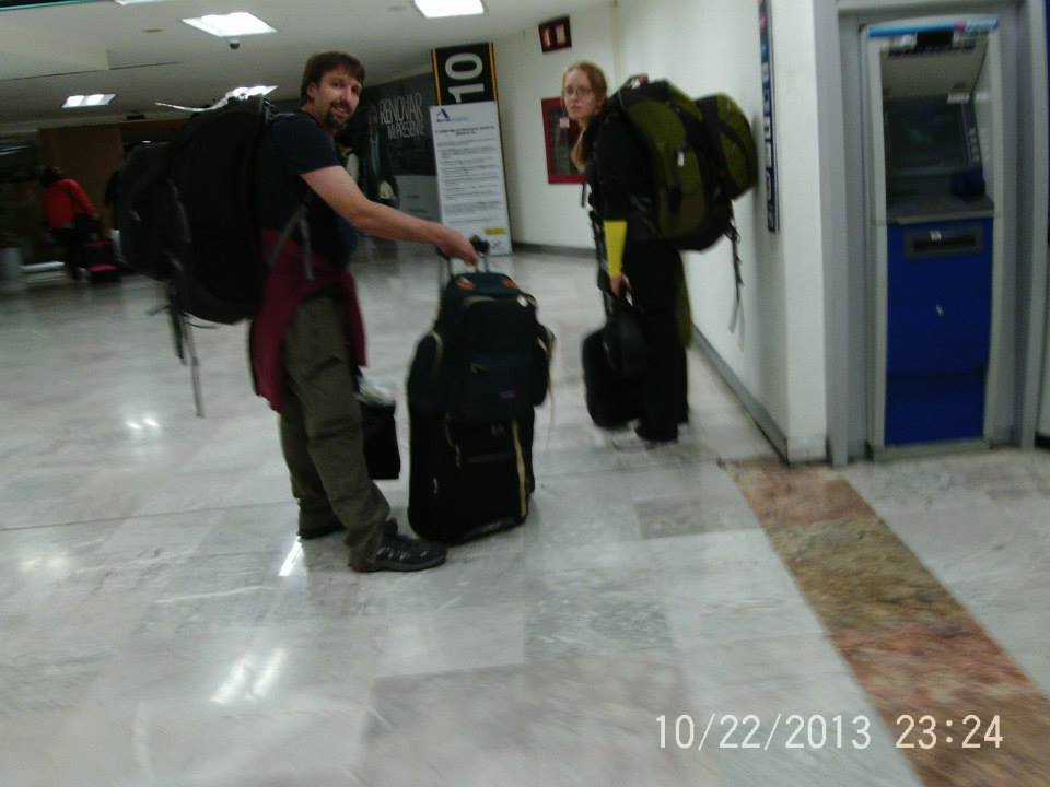 Baggage and Bullshit: Thanksgiving in Mexico — By Jennifer Shipp