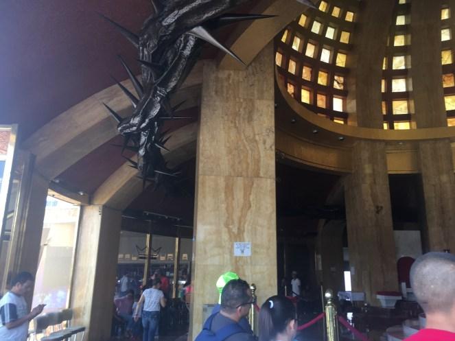 The chapel under the Cristo Rey statue in Guanajuato, Mexico.