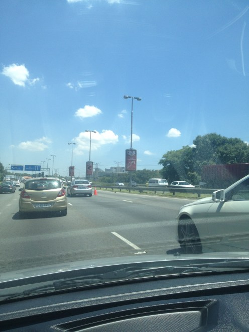 Johannesburg South Africa Driving in South Africa
