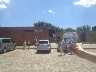 The Apartheid Museum in Johannesburg, South Africa.