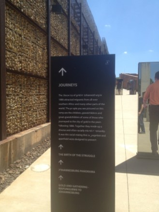 Johannesburg South Africa Apartheid Museum