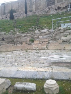 And another picture of the theater of Dionysus at the Acropolis.