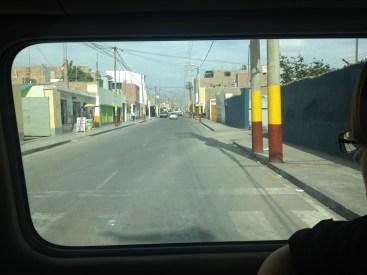 Lima to Nazca Peru Atacama Desert Bus