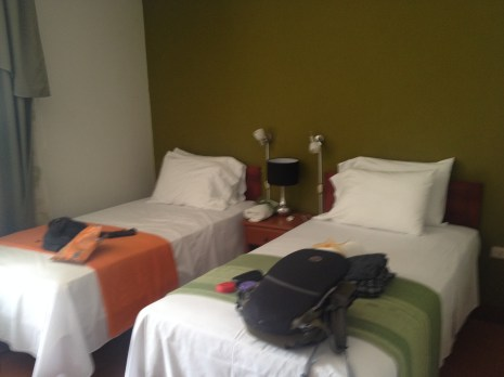 We got a triple room at the Nazca House for our stay in Nazca, Peru.