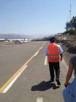 Nazca Peru Lines Airport