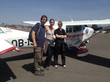 Nazca Peru Lines Airport Flight John Jennifer Lydian