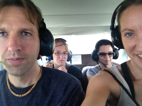 Nazca Peru Lines Airport Flight Selfie